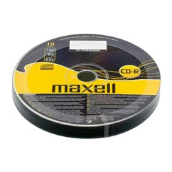 MAXELL CD-R 80min, 700MB, 52x, 10τμχ Cake box