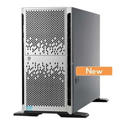 HP Server ML350E G8 Tower, E5-2407, 4GB, DVD-ROM