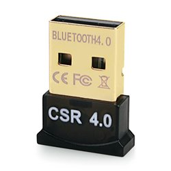 Bluetooth V4.0 & EDR USB Δέκτης, Plug & Play, 20m εμβέλεια max