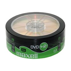 MAXELL DVD+R 16x 120min 4,7Gb 25 Spindle