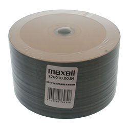 ΜAXELL DVD-R 120min, 4.7GB, 16x, printable, 50τμχ Cake box